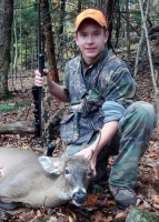 2019: Jake Dimick of Kingsbury with 4-pointer taken Oct. 20 in Dresden, Washington County.