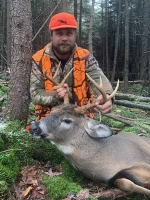 2019: Matthew Kane of Ticonderoga, NY. 8-pointer taken Nov. 7 in Arietta, NY.
