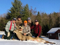 2019: Bill Kosnick along with Kosnick family with a 180-pound, 9-pointer taken Nov. 17 in Indian Lake, Hamilton County.
