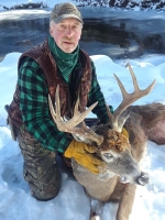 2019: Lisle Hughes of Schroon Lake with a 175-pound, 9-pointer taken Nov.16.
