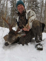2019: Wayne Kwasniewski took this Tug Hill 12-pointer on Dec. 2 in Osceola, Lewis County.