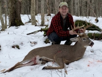 2019: Ben Black of Long Lake with a 10-pointer taken Nov. 27 in Saranac Lake, Franklin County.
