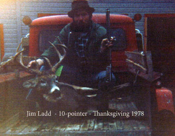 1978: Jim Ladd of West Fort Ann, NY, 10-pointer