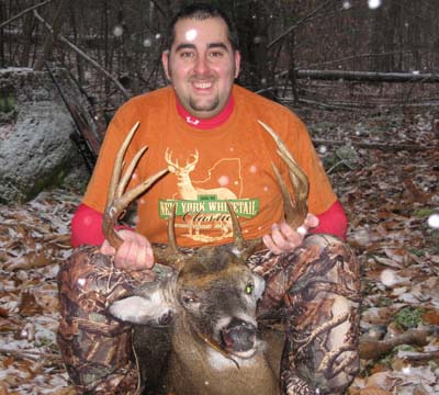 2009: Kyle Kolar of Hudson Falls, NY, 10-pointer, 155-pounds