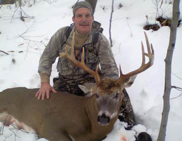 2011: Drew Hanchett of Schroon Lake, 10-pointer, 153-pounds, Essex County