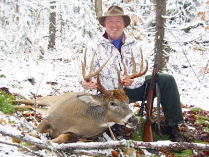 2012: Rick Esch of Forestport, NY, 10-pointer, 185-pounds, Herkimer County