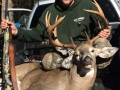 Chad Baker of South Corinth shot this 207-pound, 12-pointer at Fly creek Hunting Club in Speculator on Oct. 23