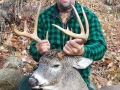 Chris graves with a Herkimer County 9-pointer that weighed 194-pounds