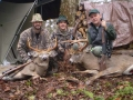 2009: Aaron, Nate and Bill Gordon of West Fort Ann, NY, 8-pointer, 145-pounds and 7-pointer, 160-pounds, Hamilton County