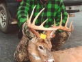 "2010: Bob ""B-O-B"" Tripp of Fort Ann, NY, 12-pointer, 150 pounds"