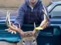 2010: Gavin Dominy (age 18) of Colton, NY, 8-pointer