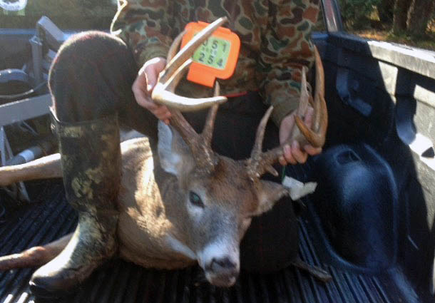Griffin Williams of Saranac, NY: 180-pound, 10-pointer taken in Waverly, St. Lawrence County