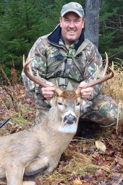 Bob Trainor of Fort Edward with a 160-pound, 9-pointer taken Nov. 28 in Johnsburg, Warren County