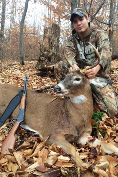 Colby Rounds of The Wolf Pond Hollow Gang took this 6-pointer on Nov. 27 in Thurman, Warren County