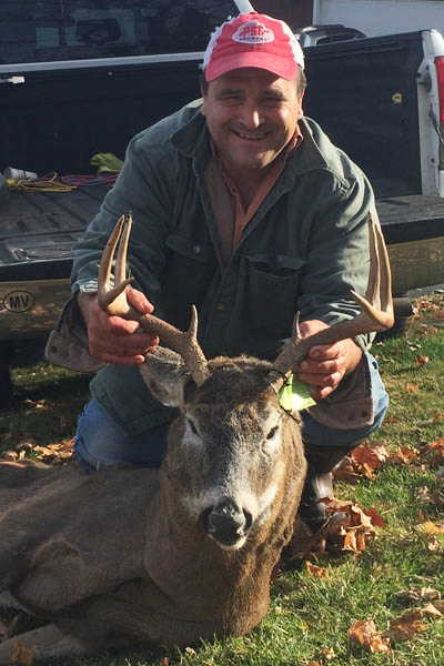 Dan Humphrey of Middle Granville with a 165-pound, 8-pointer taken Nov. 14 in Hogtown, Washington County