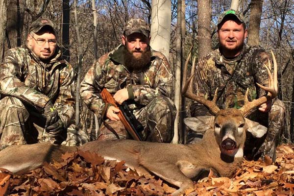 Luke Petteys with a public land 9-pointer taken in Warren County on Nov. 25