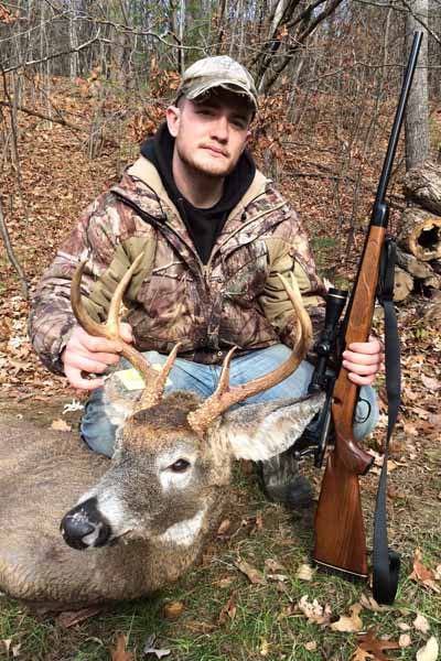 Stephen Gedney of Queensbury, 6-pointer taken Nov. 23 in Pilot Knob, Washington County