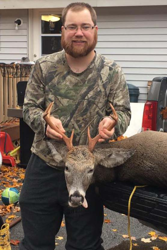 Bruce Saville of Fort Edward: 133-pound, 8-pointer taken Opening Day (Oct. 22) in North Hudson, Essex County