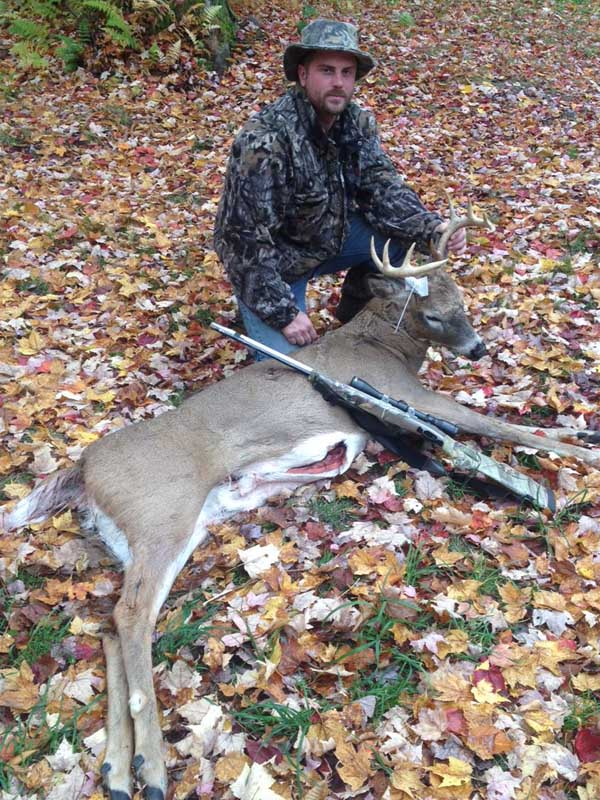 Adam Pawlenko of Fulton with a 155-pound, 10-pointer taken with a muzzleloader on Oct. 15 in Redfield, NY