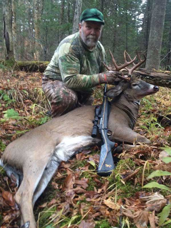Bill Russell of Bakers Mills with a 170-pound, 9-pointer taken Nov. 9 in Johnsburg, Warren County