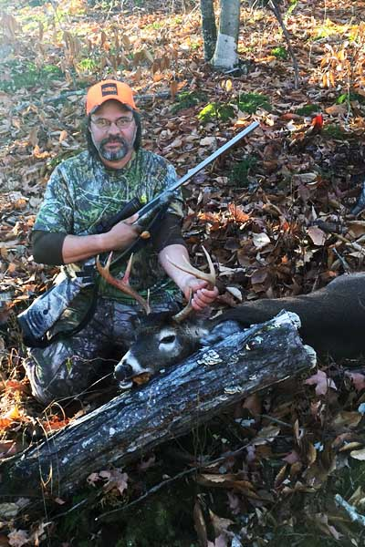 Brad Hutchins 162-pound, 8-pointer taken Nov. 13 in Indian Lake Hamilton County