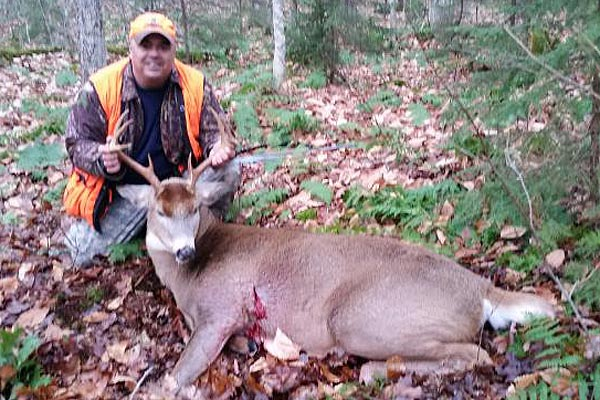 2016: Sean DeAngelo of Saratoga: 192-pound, 8-pointer taken Nov. 5 in Inlet, Hamilton County