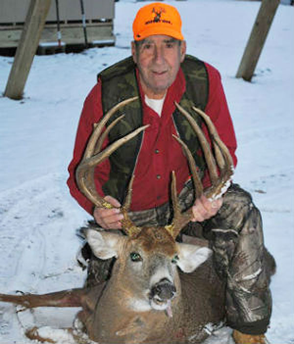 William G. Stewart of Greenfield Center took this monstor on Nov. 21 in Saratoga County