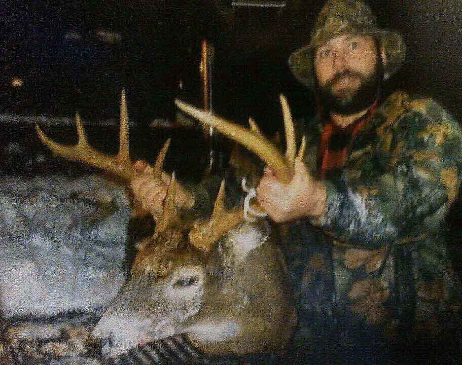 2016: Mark Booth with a Southern Adirondack 10-pointer taken in Oneida County on Nov. 22