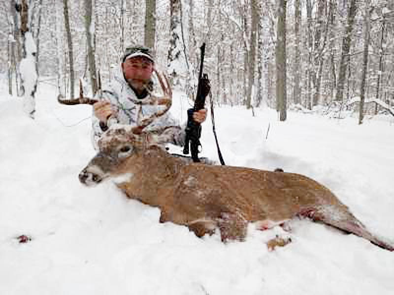 2016: Scott Dillon of West Monroe New York with a 201-pound, 9-pointer taken Nov. 20 in Webb, Herkimer County