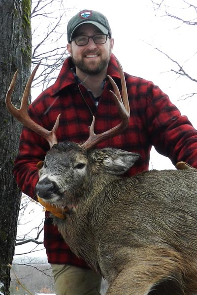 A 180-pound, 7-pointer taken Dec. 2 out of Camp Squaw by Hector Horshack in Hamilton County