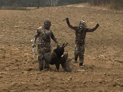 Chuck Law captured the moment during the 2016 Youth Turkey Hunt