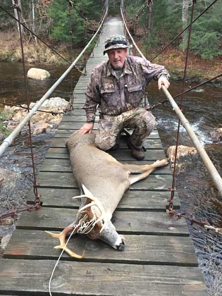 2017: Bill Watters of Day, NY with a 147-pound, 10-pointer taken Nov. 22 in Wells, Hamilton County.