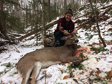 2017: Mike Delpha of New Milford, CT with a 196-pound, 10-pointer taken Nov. 25 in Essex County