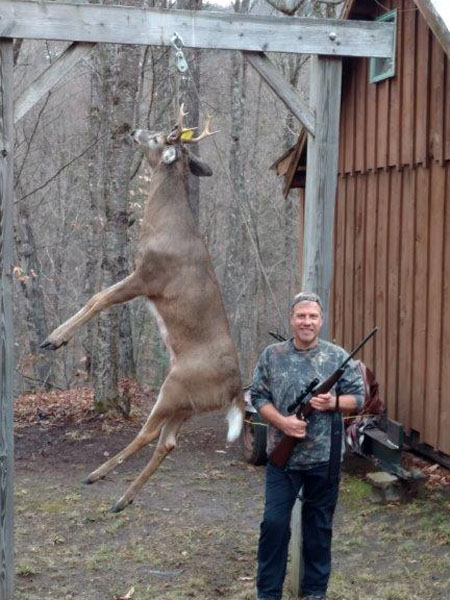 2017: Tim Fenway of Glens Falls, NY with a 143-pound, 7-pointer taken Nov. 22 in Indian Lake, Hamilton County.