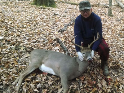 2014: William Zielinski, 10-pointer, 190-pounds, Northern Saratoga County