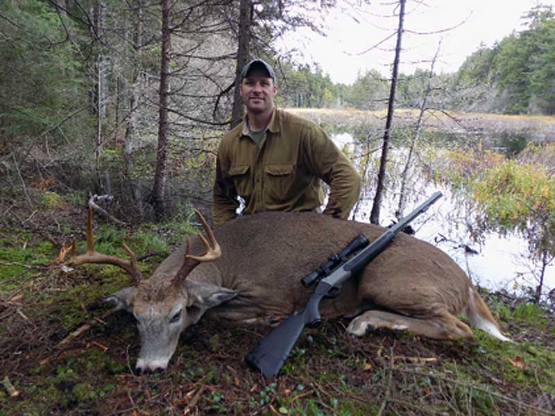 2018: Eric Boek, Boonville, NY. 199-pound, 8-pointer taken in Herkimer County during he early muzzleloading season.
