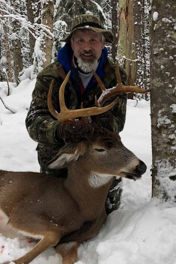 2018: Todd Mallory, Lake George, NY. 8-pointer taken Nov. 27 in Hamilton County.