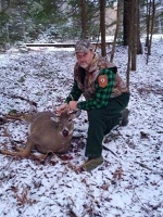 2017: Gene Gurewicz, Millinocket Maine: 140-pound, 5-pointer taken Nov. 17, 2917 in Blue Mountain Lake, Hamilton County.