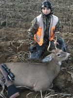 2018: Camren Beckwith, age 14, of Bloomingdale with his first buck; a 145-pound, 3-pointer taken opening day in Franklin County.