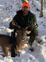 2018: Jim Euber, Westford, VT. 170-pound, 8-pointer taken Nov. 12 in Long Lake, Hamilton County.