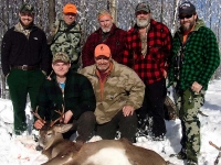 2018: Mike Martin of the Stony Brook Hunting Club in Hopkinton, St. Lawrence Count with a 140-pound, 8-pointer taken Dec. 1.