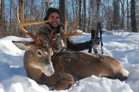 2018: Christopher Wengert, Edmeston, NY. 150-pound, 10-pointer taken Nov. 23 in Oneida County in the southern Adirondacks.