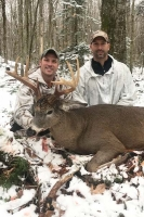 2017: Eric Boek with a 145-pound, 9-pointer taken Nov. 14 in Hamilton County.