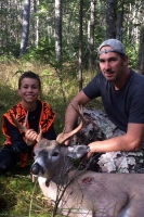 2017: Colby McCauliffe, with with his uncle Jason McCauliffe of Salem with a 185-pound, 8-pointer taken Oct. 22 in Blue Mountain Lake.