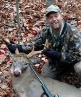 2017: Greg Carlisle of Hudson Falls, NY with a 205-pound, 8-pointer taken Nov. 5 in Johnsburg, Warren County.
