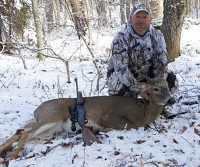 2017: John haresign tracked this 146-pound, 8-pointer on Nov. 10.
