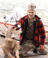 2017: Kevin Zieniuk of Scotia, NY with a 170-pound, 8-pointer taken Nov. 9 at Camp Laughing Buck in Dresden, Washington County.