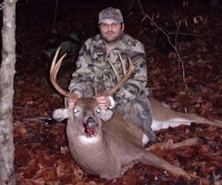 2017: Owen Martin with his 176-pound, 7-pointer taken Nov. 6 in Willsboro, Essex County.