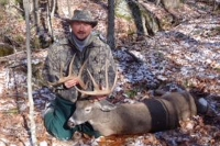 2017: Rick Bathalon with a 172-pound, 10-pointer taken Nov. 11 in Newcomb, Essex County
