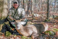 2017: Steve Sawn of the Windy Hill Club in Hogtown, NY with a 7-pointer taken in the Lake George Wild Forest on Nov. 11.